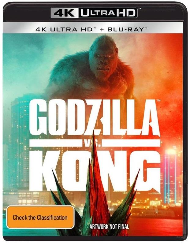 Godzilla vs. Kong (4K UHD) on UHD Blu-ray
