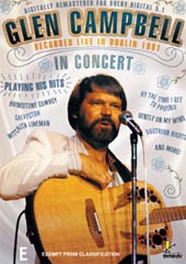 Glen Campbell Live In Concert on DVD