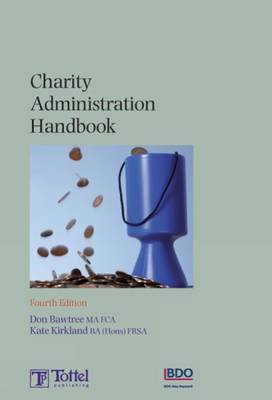 Charity Administration Handbook by Don Bawtree image