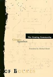 Coming Community by Giorgio Agamben image