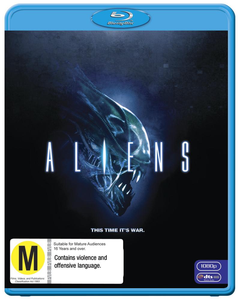 Aliens on Blu-ray image