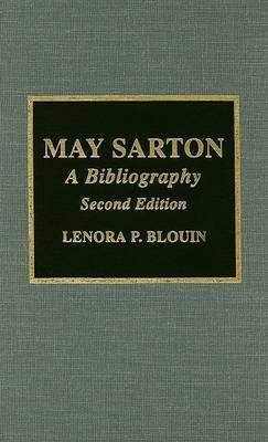 May Sarton by Lenora P. Blouin
