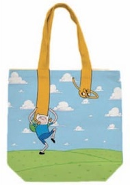 Adventure Time Finn and Jake Canvas Tote Bag