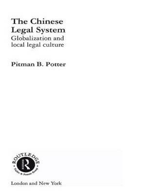 The Chinese Legal System by Pitman B. Potter image
