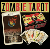 The Zombie Tarot Deck: An Oracle of the Undead with Deck and Instructions by Paul Kepple