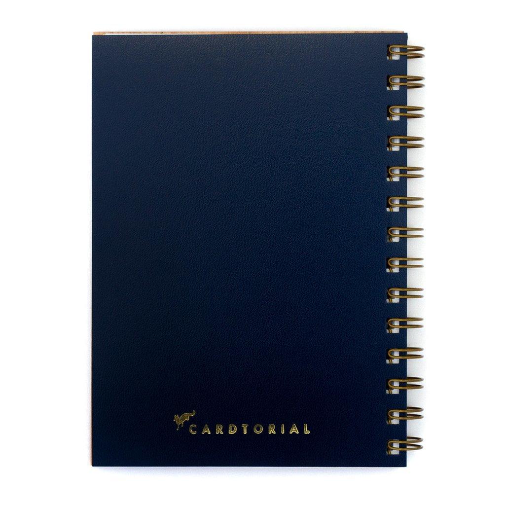 Cardtorial Wooden Journal - Banana Leaves image
