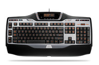 Logitech G15 Keyboard, Illuminated Keys, 6 Programmable Keys, LCD for  image