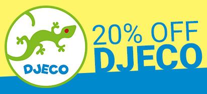 20% off Djeco