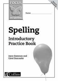 Spelling Introductory Practice Book by Joyce Sweeney image