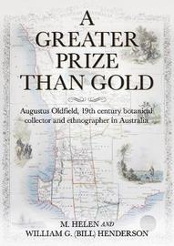A Greater Prize Than Gold by M Helen Henderson image
