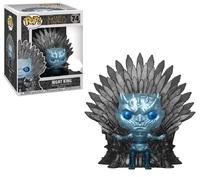 Game of Thrones: The Night King (Iron Throne - Metallic) - Pop! Deluxe Figure image