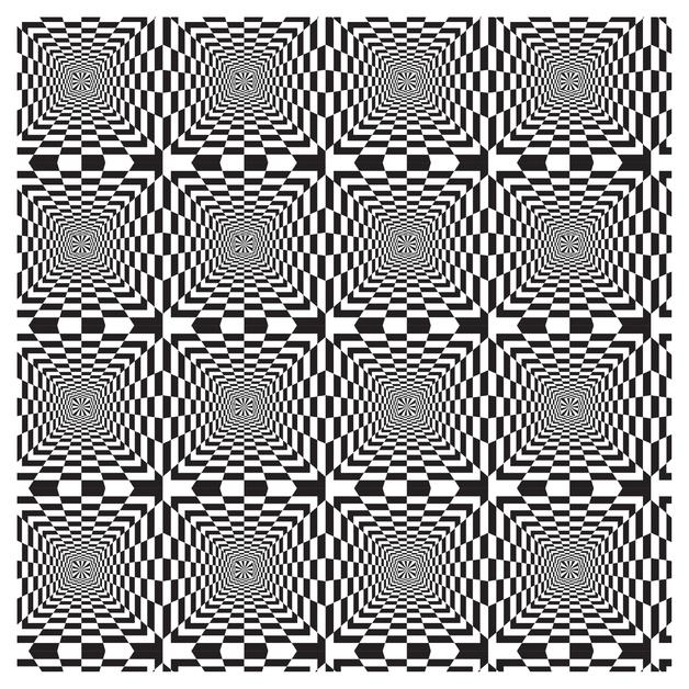 SKINZ: Illusions Book Cover - Black & White (45cm x 1m)
