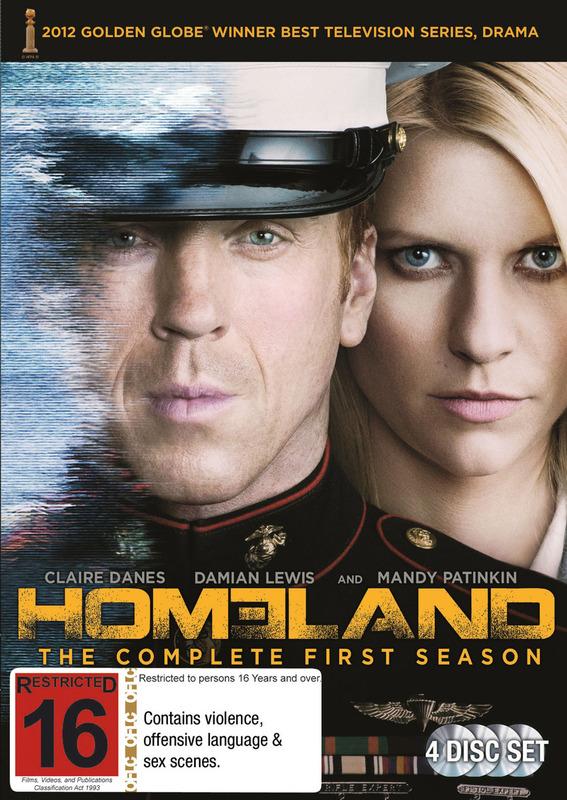 Homeland - Season 1 on DVD
