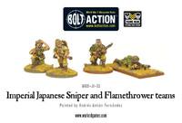 Imperial Japanese - Sniper & Flamethrower Teams
