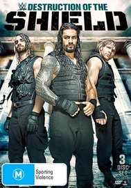 WWE - The Destruction Of The Shield on DVD