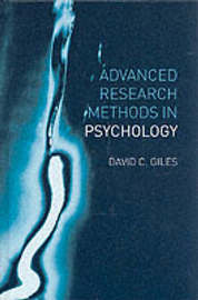 Advanced Research Methods in Psychology by David Giles image