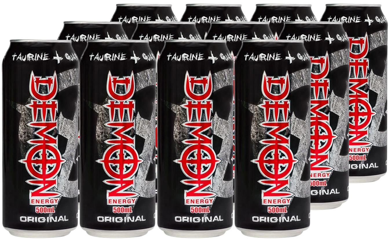 Demon Energy Original Can 500ml 12 Pack image