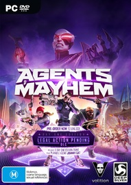 Agents of Mayhem Day 1 Edition for PC Games