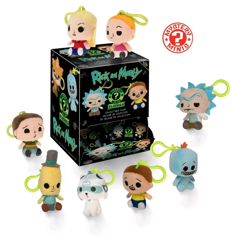 Rick and Morty - Mystery Minis Plush Key Chain [HT Ver] (Blind Box) image