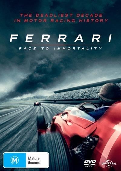 Ferrari: Race To Immortality on DVD