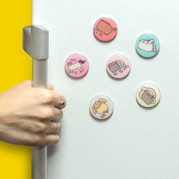 Pusheen Fridge Magnets 6-Pack