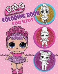 O.M.G. Glamour Squad! Coloring Book for Kids by Books Plus