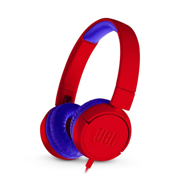 JBL JR300 Kids Wired Headphones - Red