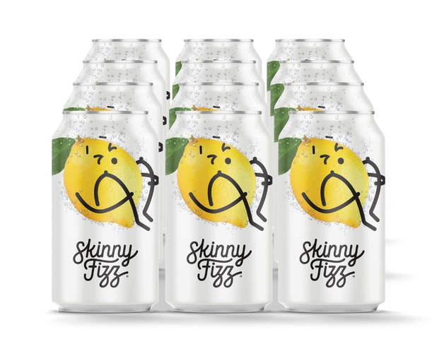 Skinny Fizz - Lemon (12 x 330mL)