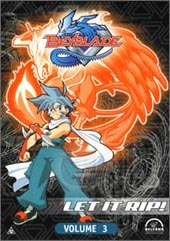 Beyblade Vol 3 on DVD