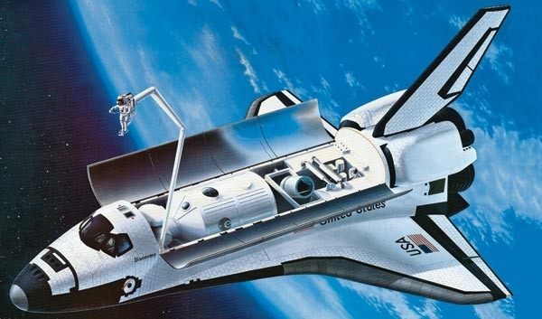 revell germany space shuttle atlantis model kit - photo #9