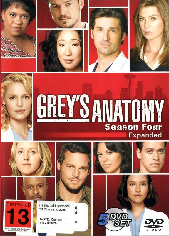 Greys Anatomy Season 4 Dvd In Stock Buy Now At Mighty Ape Nz