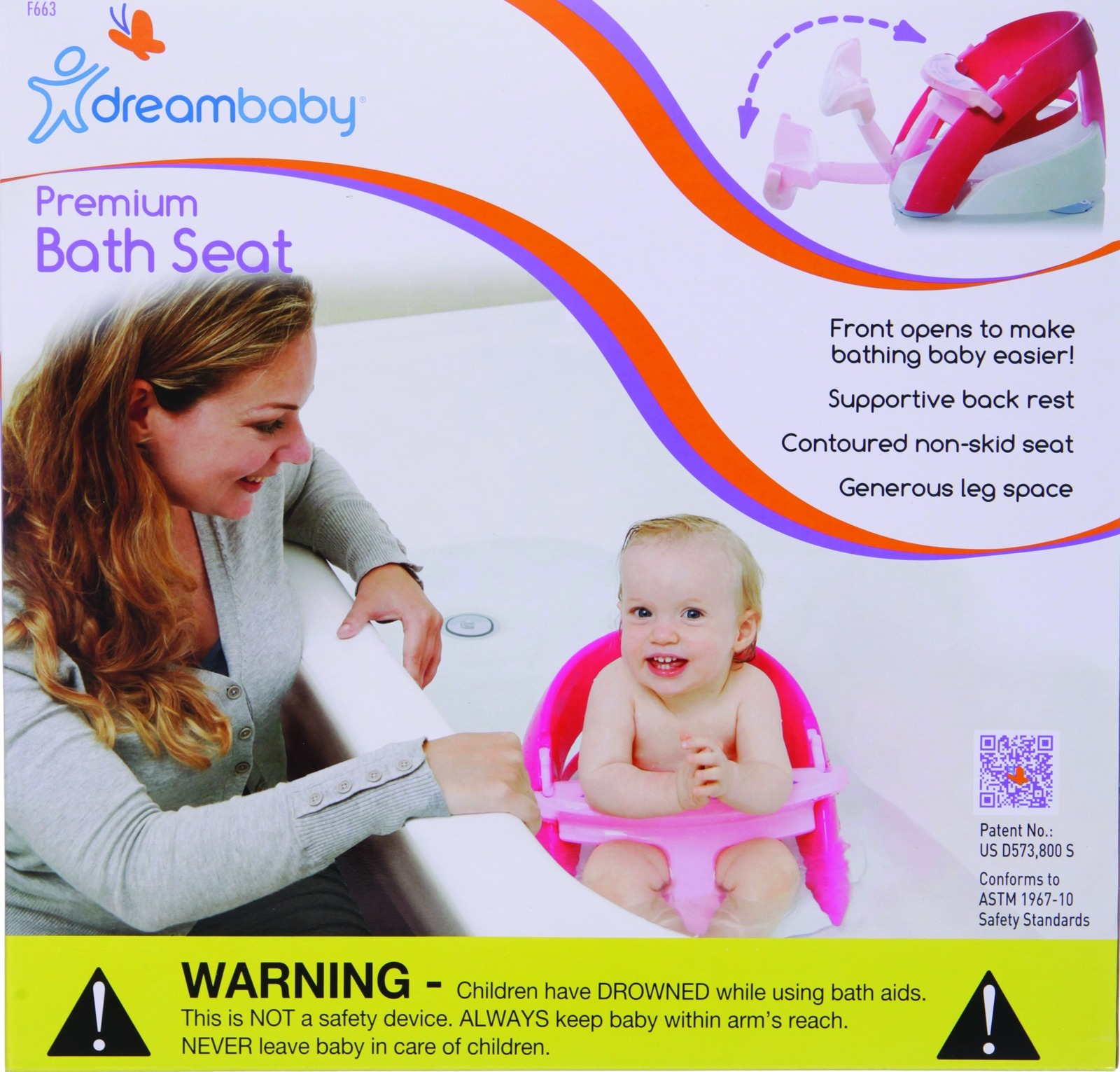 Dreambaby Deluxe Bath Seat image