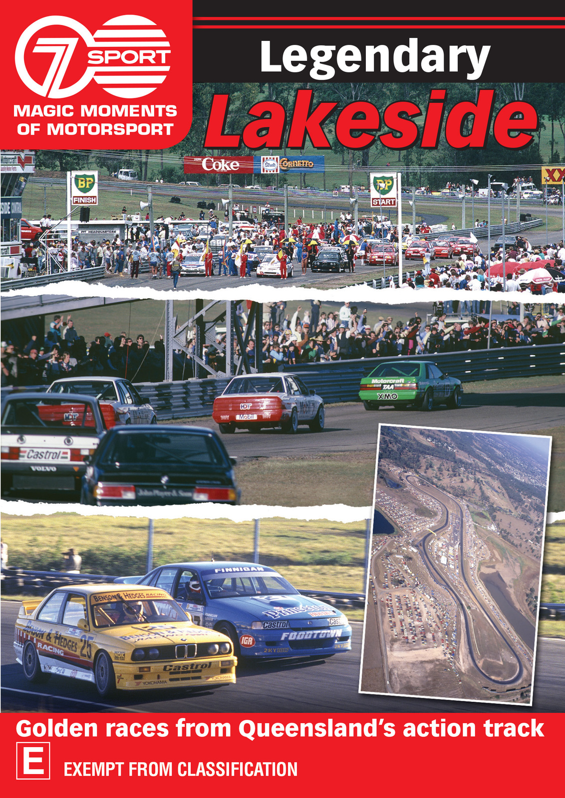 Magic Moments Of Motorsport: Legendary Lakeside on DVD image