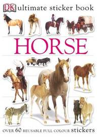 Horse Ultimate Sticker Book image