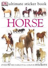 Horse Ultimate Sticker Book image