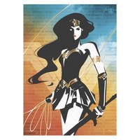 Justice League: Wonder Woman (Words) - MightyPrint Wall Art