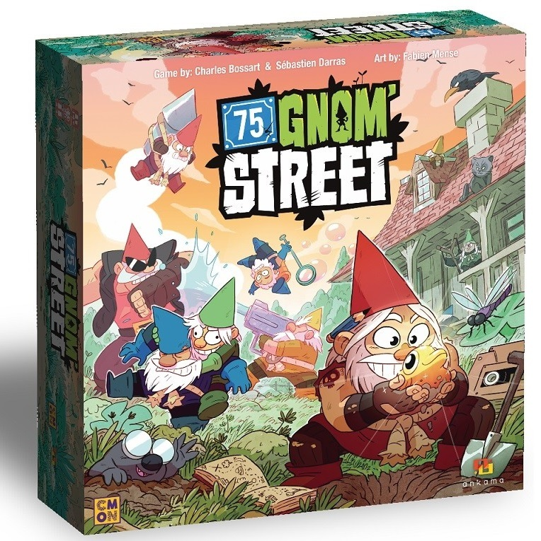 75 Gnom' Street - Board Game image