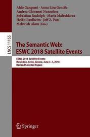 The Semantic Web: ESWC 2018 Satellite Events image