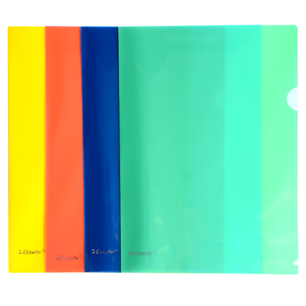 Esselte: Heavy Duty A4 Letterfile - Assorted (12 Pack)