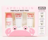 April Skin: Pinky Clay Nose Pack Set