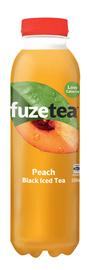 Fuze Peach Black Iced Tea 500ml 12pk
