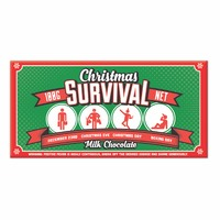 Bellaberry Christmas Survival Milk Chocolate (100g)
