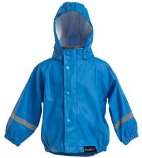 Mum 2 Mum: Rainwear Jacket - Royal Blue (3-4 Years)