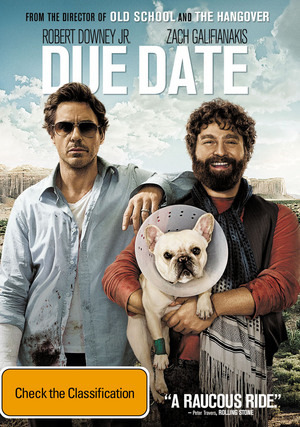 Due Date on DVD image