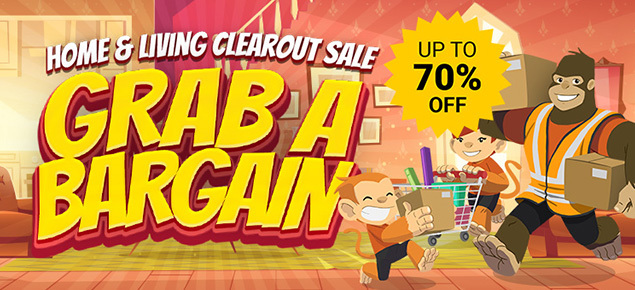 Home & Living Clearout Sale!