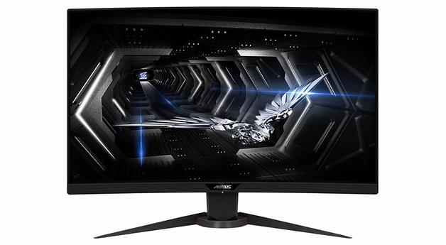 "27"" Gigabyte Aorus 1440p 165Hz Curved Gaming Monitor"
