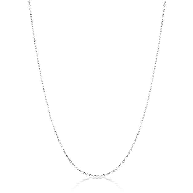 El & Ro: Cherish Cable Chain - Silver