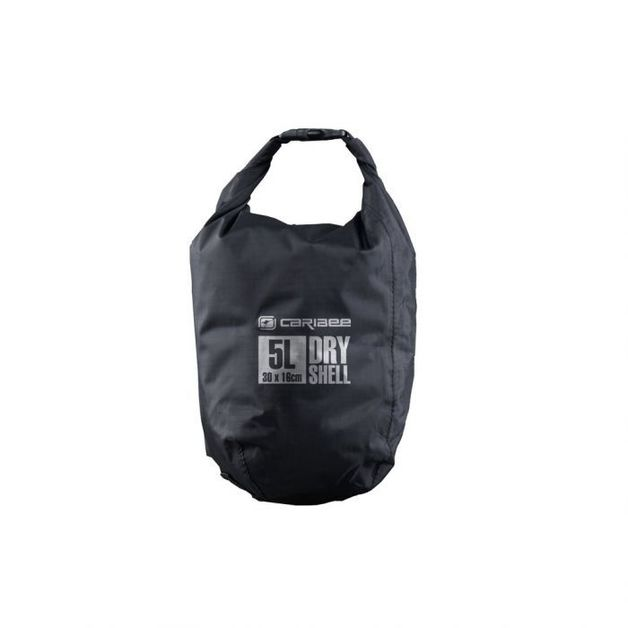 Caribee Dry Shell Bag (Small) - Black - 5L