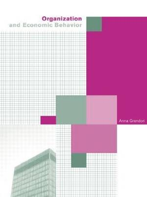 Organization and Economic Behaviour by Anna Grandori