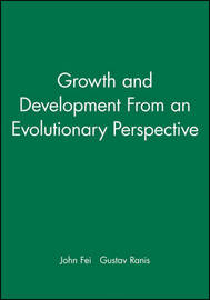 Growth and Development from an Evolutionary Perspective by John Fei image